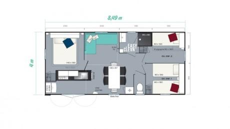 Resort IRM neuf plan